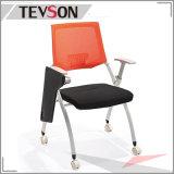 Silla plegable del entrenamiento de la sala de reunión de los muebles de escuela de los muebles de oficinas con la pista de escritura