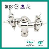 Pulitore sanitario rotativo dell'acciaio inossidabile SS304 SS316L del pulitore