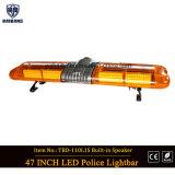 Signal d'échantillonnage de clignotement ambre Lightbar (TBG-GA-110L1) du projet DEL