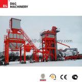 Usine d'asphalte de 100 t/h pour la construction de routes/machine de construction de routes