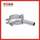 Corchete redondo inoxidable del tubo del acero Ss304 de las instalaciones de tuberías