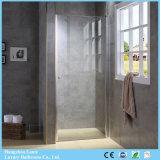 Preiswerter Preis-einfache saubere Luxuxglasdusche-Türen mit Gelenk-Scharnier (9-3190)