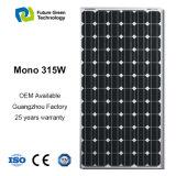 panneau solaire photovoltaïque monocristallin flexible de l'énergie 315W renouvelable