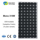 flexibler monokristalliner photo-voltaischer Sonnenkollektor der Energieen-315W