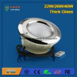 luz da associação do diodo emissor de luz de 26W IP68 para a piscina do cimento ou do plástico
