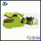 Tesoura hidráulica do grande crocodilo relativo à promoção do metal dos desperdícios do projeto