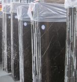 Losas de mármol grises de Brown que pavimentan el mármol de St Laurent para Floor&Stair