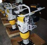 Dame vibrante de choc de qualité avec la vente d'usine d'engine de 3.5HP Robine