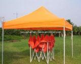 安い折る鋼鉄望楼のテントの庭PVCオックスフォードファブリック屋根のテント