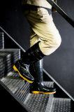 أمان فولاذ إصبع قدم غطاء [رين بووت] يعمل مطر أحذية, [س] معياريّة أمان [وورك شو]