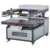 Machine d'impression à plat grande de l'écran Tmp-90120 en soie pour le textile