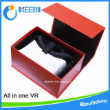 Tutti in una macchina di vetro di realtà virtuale 3D di Aio Vr