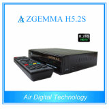 Zgemma H5.2s Bcm73625 Dual Threading 751MHz CPU Linux Enigma2 Twin Sat Tuners Receiver