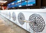 150 disegni di generi che intagliano i fiori illuminano in su il contatore lussuoso della barra di hotel del contatore della barra di vendita calda del contatore della barra di hotel