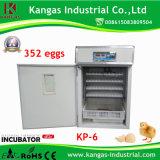 2017 352個の卵のための新しく小さいデジタル鶏の定温器