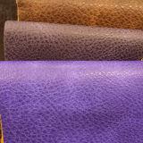 Cuero retro del Faux de la PU del estilo para los muebles del sofá