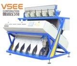 機械カラーによって押しつぶされるプラスチックカラー選別機をリサイクルするVsee RGBのプラスチック