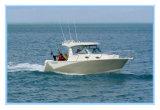 Горячая рыбацкая лодка уклада жизни алюминия сбывания 7.5m с сертификатом Ce