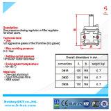 1bar Dn15 Aluminiumnatur-Gas-Regler ohne Anzeigeinstrument