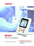 op Verkoop! De handbediende Analysator van de Urine van de Interface Microusb en Bluetooth