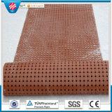 Anti roulis de couvre-tapis de glissade/couvre-tapis antidérapage d'étage/couvre-tapis en caoutchouc antistatique