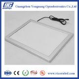 Casella chiara sottile eccellente del blocco per grafici LED dello schiocco dell'alluminio
