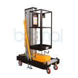 Levage hydraulique de levage de matériel de plate-forme manuelle de travail aérien (hauteur maximum 8m)