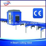 ステンレス鋼の穏やかな鋼鉄梁CNC血しょうフレーム切断機械