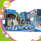 Campo de jogos ao ar livre do Trampoline interno macio pré-escolar do equipamento do campo de jogos