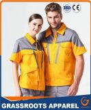 方法デザイン安の100%年の綿および高品質のWorkwear