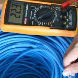 PVC di UTP Cat5e 4pair 24AWG 0.45mmcca