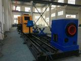 Máquina de chanfradura da estaca de Proile da tubulação do CNC do plasma para a fabricação de aço