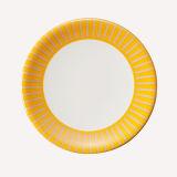 De Plaat van de Sushi van de melamine met het Kleurrijke Vaatwerk van de Melamine van Decoration/100% (QQA006B)