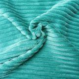 Cut Pile tela de la pana con Non-Woven Copia para tapicería Sofá Cover