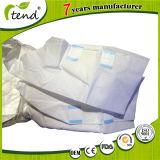 Panales adultos de la incontinencia de los pañales de la película posterior del PE del plástico con la cinta de los PP