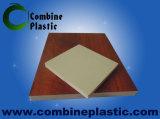 Feuille / planche en mousse en PVC composite en bois