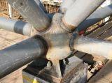 Griglia utile della struttura d'acciaio per il parcheggio