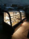 상업적인 마블 케익 진열장 케이크 전시 냉장고 진열장을 중국제 갈채를 보내기