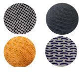 Ddsafety 2017 3 rosqueia luvas naturais da segurança dos pontos do PVC da corda do algodão do Knit
