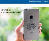 金属の処理の携帯用20W Mopaのファイバーレーザーのマーキング機械