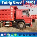6X4 Sinotruck HOWO 371 팁 주는 사람 트럭의 사용된 덤프 트럭