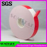 Somi 테이프 Sh333A-30는 각자 밀봉을%s 가진 유연한 PE 갯솜 테이프를 방수 처리한다