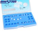 Orthodontischer Schlitz 5*5. 022 Haken 3-4-5 zahnmedizinische keramische Halter