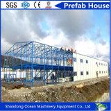 Casa modular móvel Prefab luxuosa do frame de aço da luz do baixo custo de China