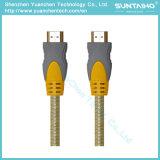 Высокоскоростная Nylon линия кабель HDMI с локальными сетями