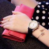 359 Yazole Luxuxfrauen-Uhr-Kristall-Dekoration-Kasten-schöne Dame Uhr