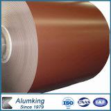 De in reliëf gemaakte Kleur Geschilderde Rol van het Aluminium van het Aluminium Rol Vooraf geverfte