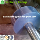 Película rígida do PVC do plástico desobstruído elevado para a inserção do colar, a borboleta e o vestuário Accesspories