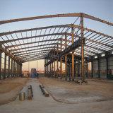 Magazzino strutturale d'acciaio prefabbricato della Libia con protezione contro la corrosione
