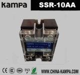 Relais semi-conducteur de régulateur de résistance de tension de la sortie 24-480VAC de l'entrée 90-280VAC de SSR 10A